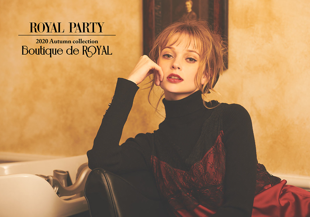 2020 Autumn collection Boutique de ROYAL